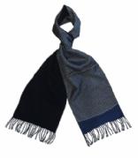 Milano Paisley Blue zijden herensjaal